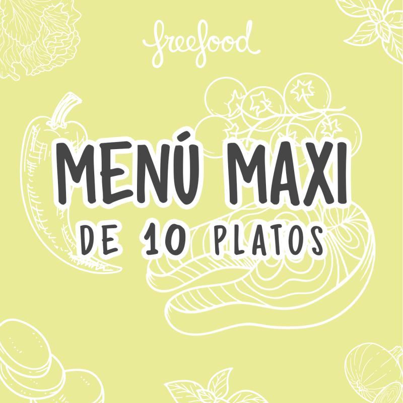 Menú Próxima Semana 10 platos