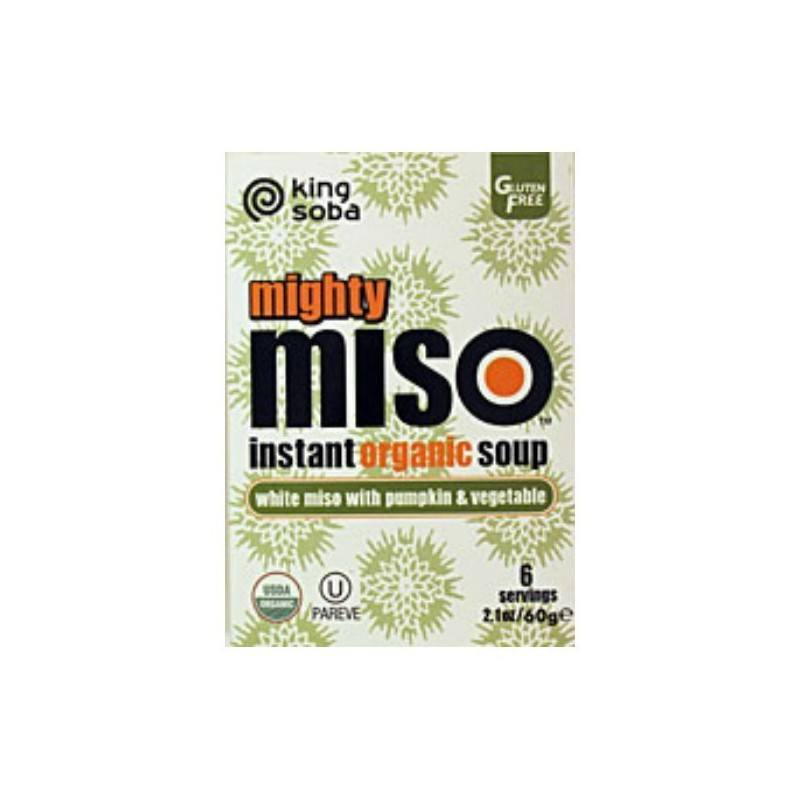 Sopa Mighty Miso instantánea