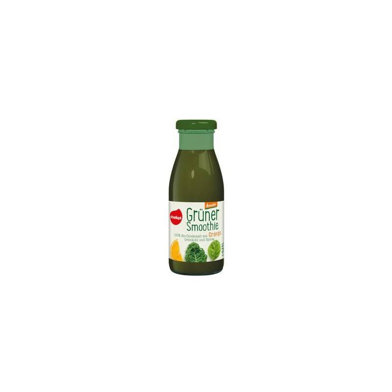 Batido verde de Naranja, kale y espinacas