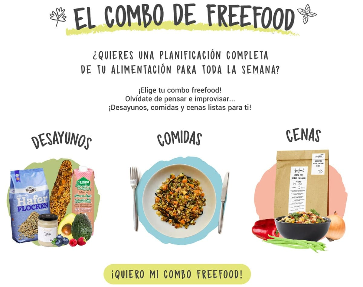 Combo Freefood - Una planificación completa para toda la semana
